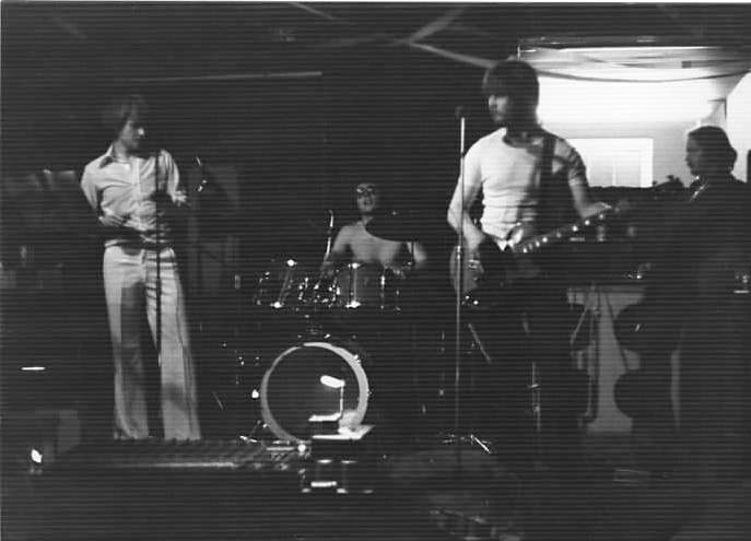 FTF live at Carey Place Youth Club, Watford, Herts. Taken circa 1977. It was 35 degrees centigrade inside the club that evening, which is why Kim was not wearing a T-shirt.
